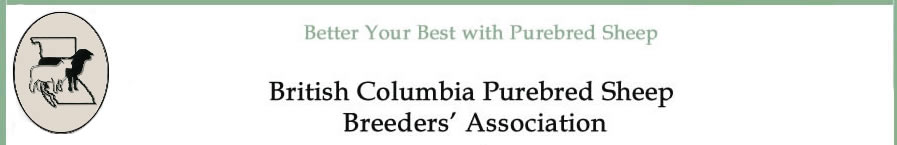 Brtish Columbia Purebred Sheep Breeders' Associaiton